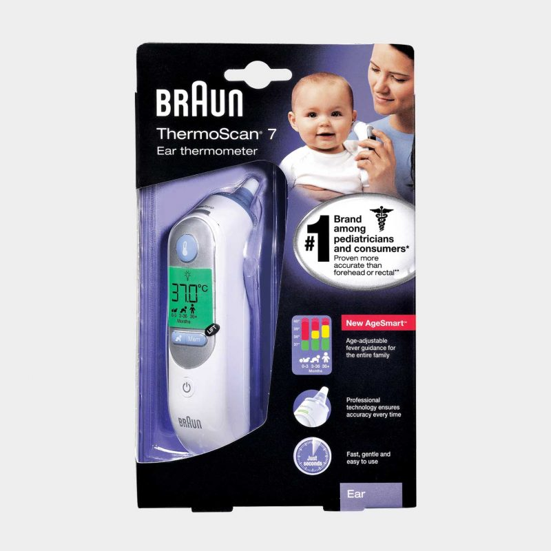 Braun Ear ThermometerAgeSmart™ Thermoscan™ 7 Package